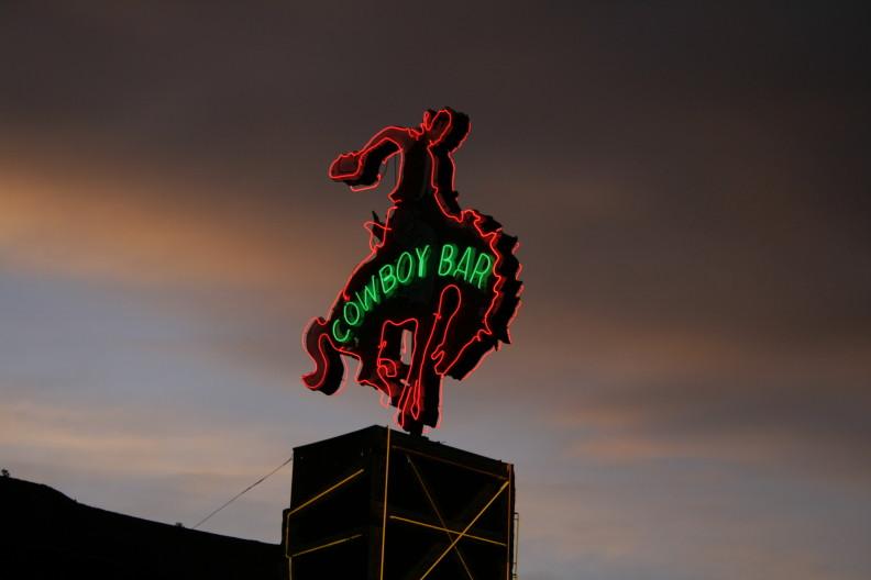 cowboy bar Wyoming